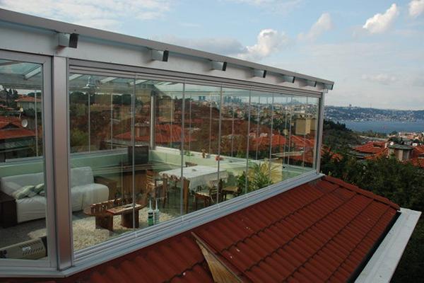 teras cam balkon